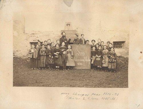 Scoula Sent, seguonda classa 1865/66