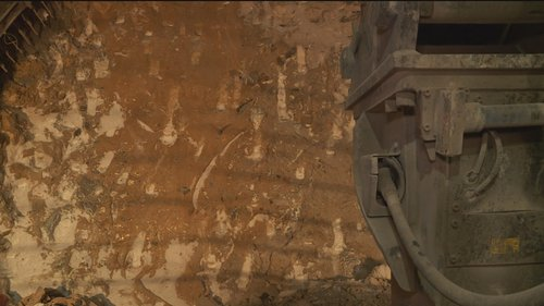 Tunnel d'Alvra RhB: difficultads geologicas 1