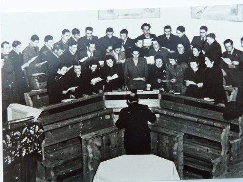 Cor da baselgia da Sta. Maria/Valchava 1941