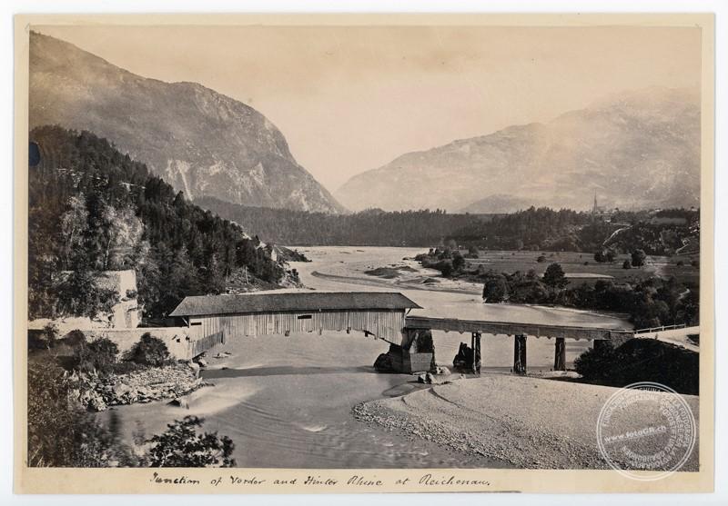 Alte Holzbrücke bei Reichenau