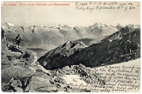 Alpinists engles enta Medel