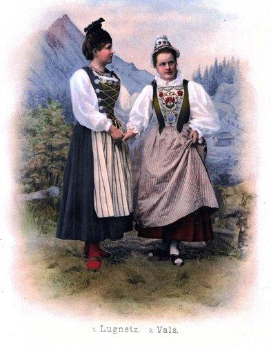 Costums dalla Lumnezia e da Val s.Pieder