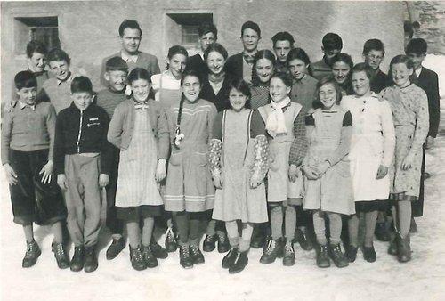 Scoula Tschlin annadas 1940-1942