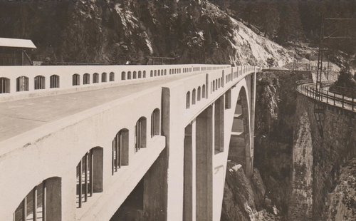 Viafier retica: punts e viaducts