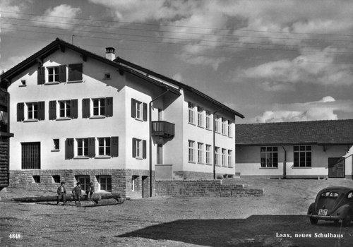 Casa da scola Laax, onns 1960