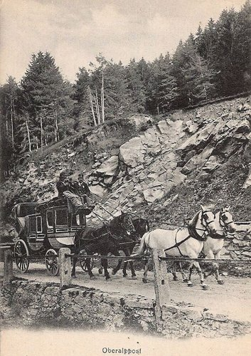 Posta da cavals pass Alpsu