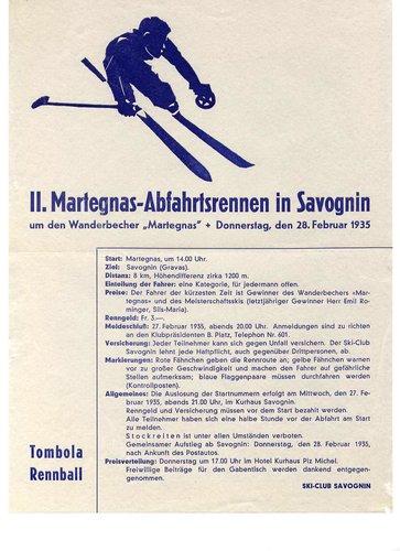 Savognin - cursa Martegnas (1)