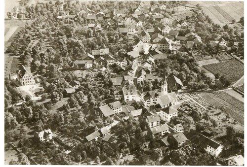 Luftaufnahme Igis