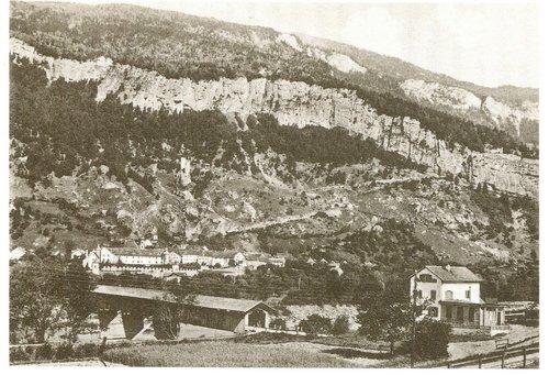 Holzbrücke Haldenstein