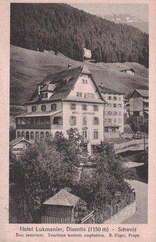 Mustér: Anteriur hotel Lucmagn