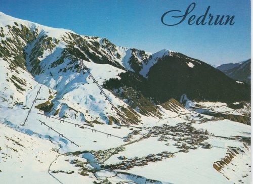 Territori da skis a Sedrun
