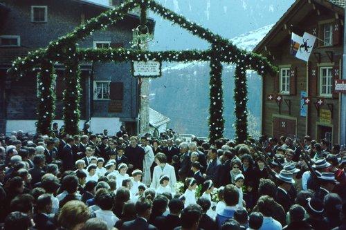 Messa nuviala 1964 a Sedrun