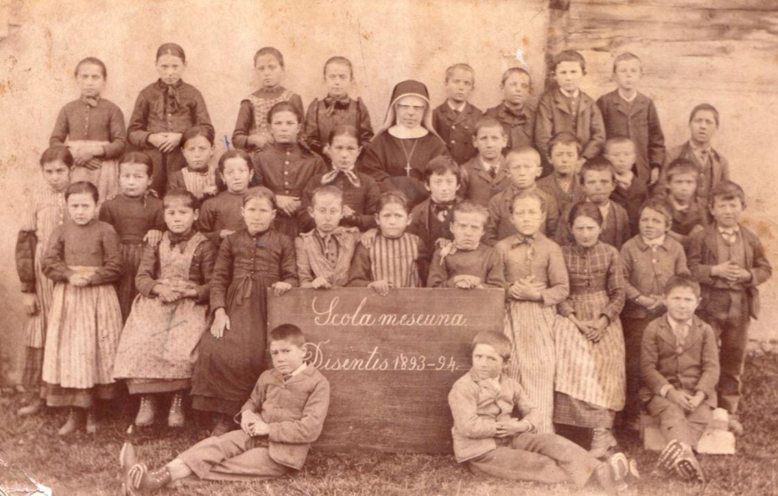 Scola meseuna Disentis 1893-94