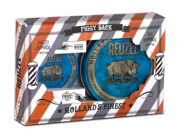 Reuzel blue piggy back
