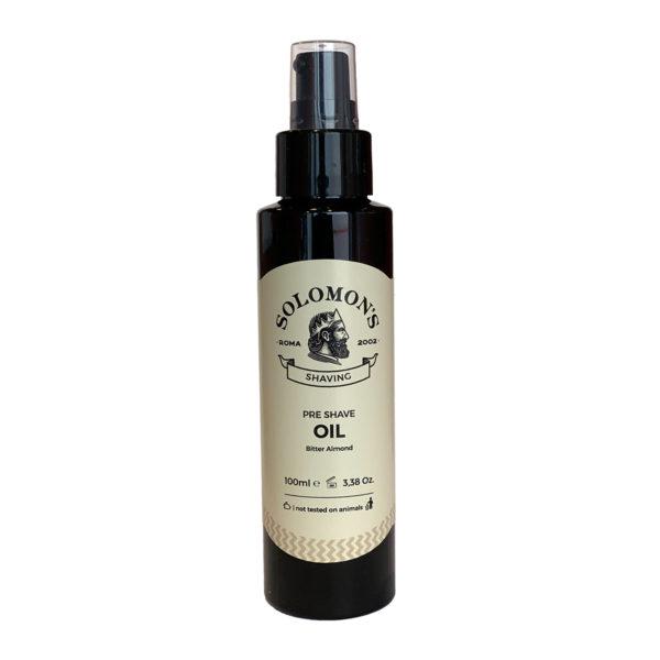 parranajoöljy solomon's beard pre shave oil