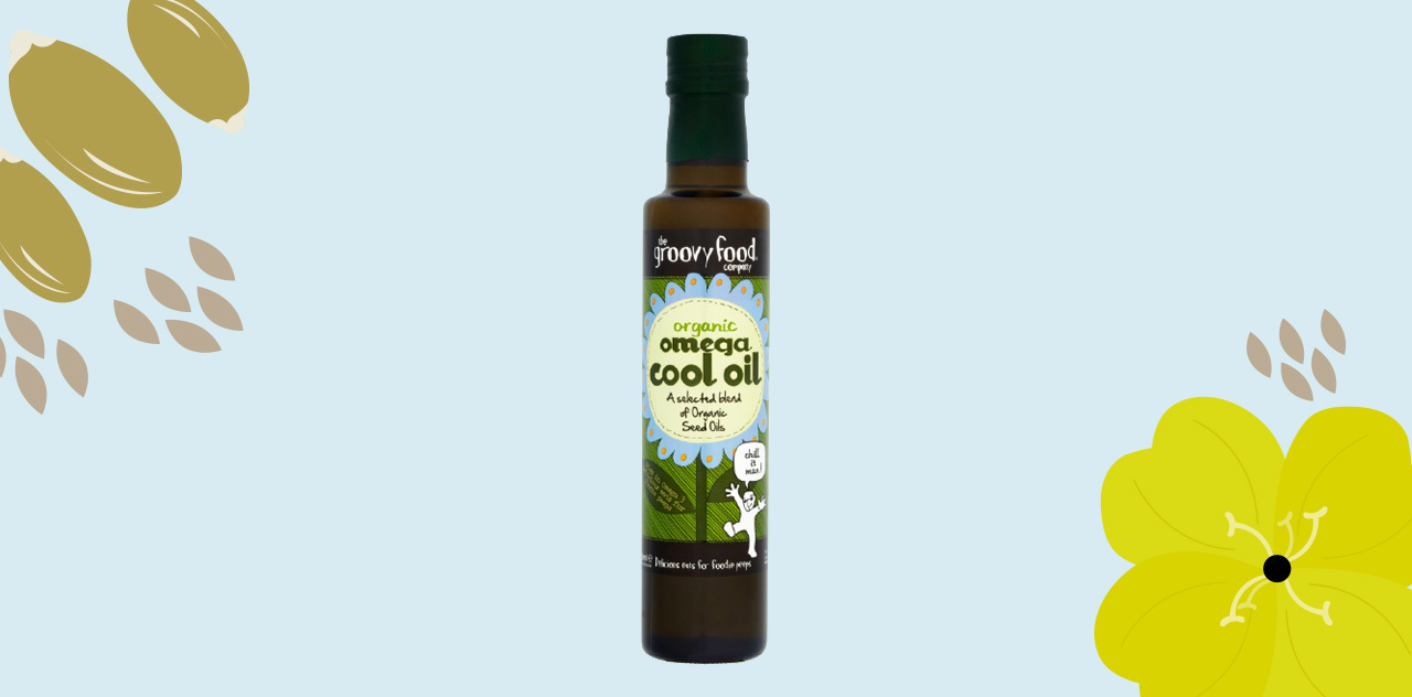 Omega cool oil