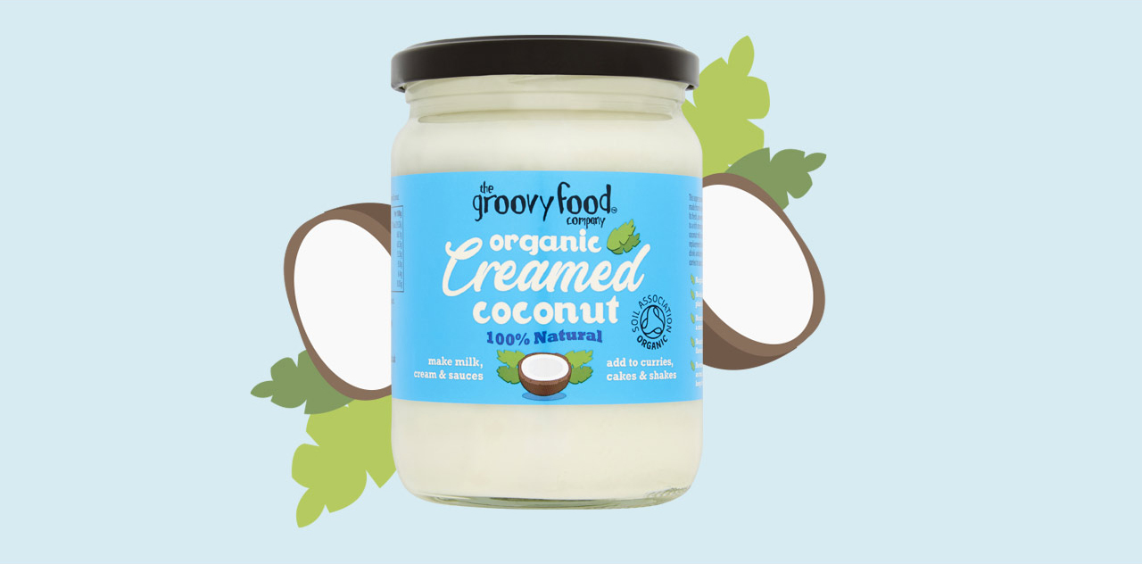 Creamed coconut oil