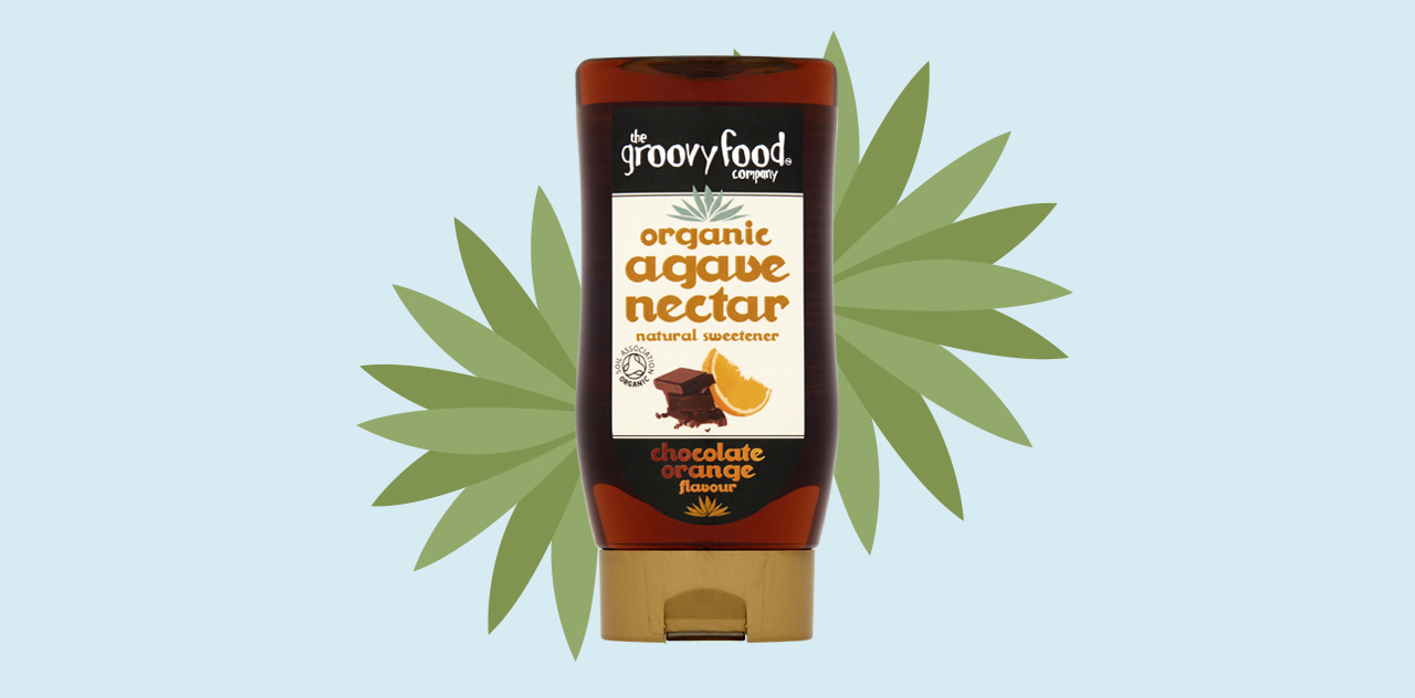 Agave nectar chocolate orange