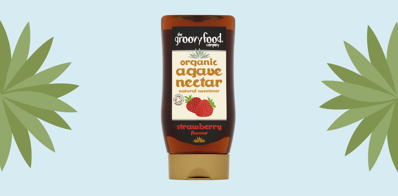 Agave nectar strawberry