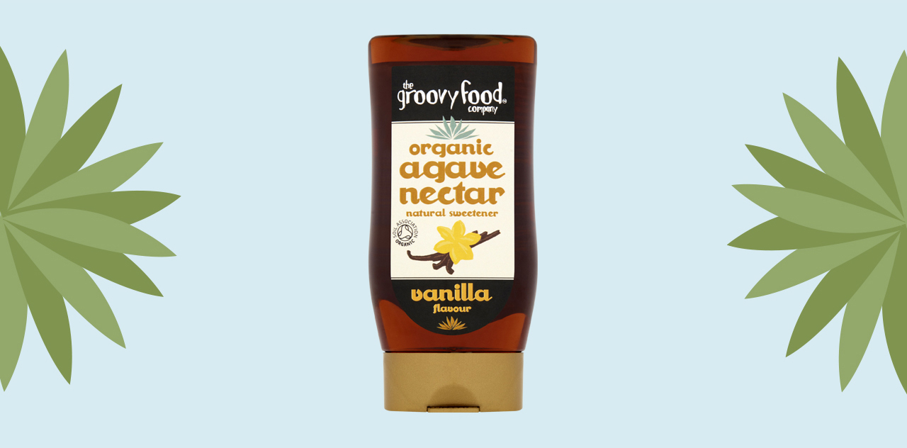 Agave nectar vanilla