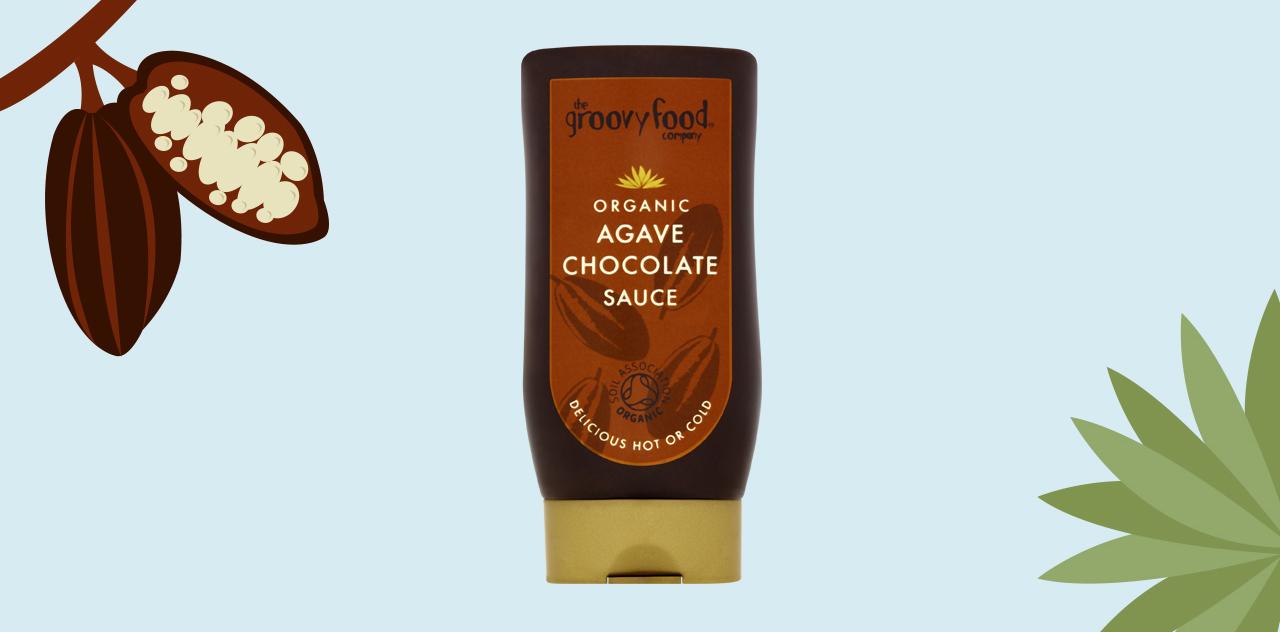 Agave chocolate sauce