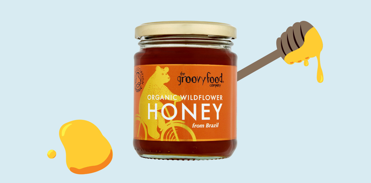 Honey organic wildflower honey from brazil
