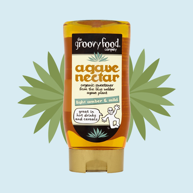 Agave nectar light amber and mild