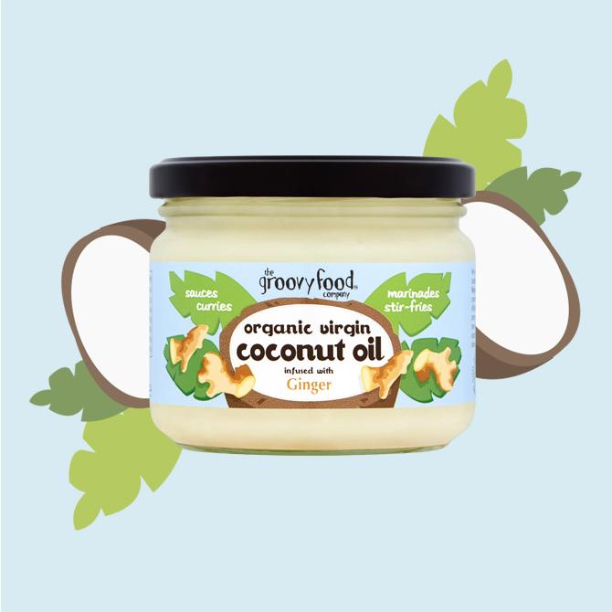 Coconut oil ginger