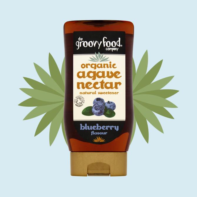Agave nectar blueberry