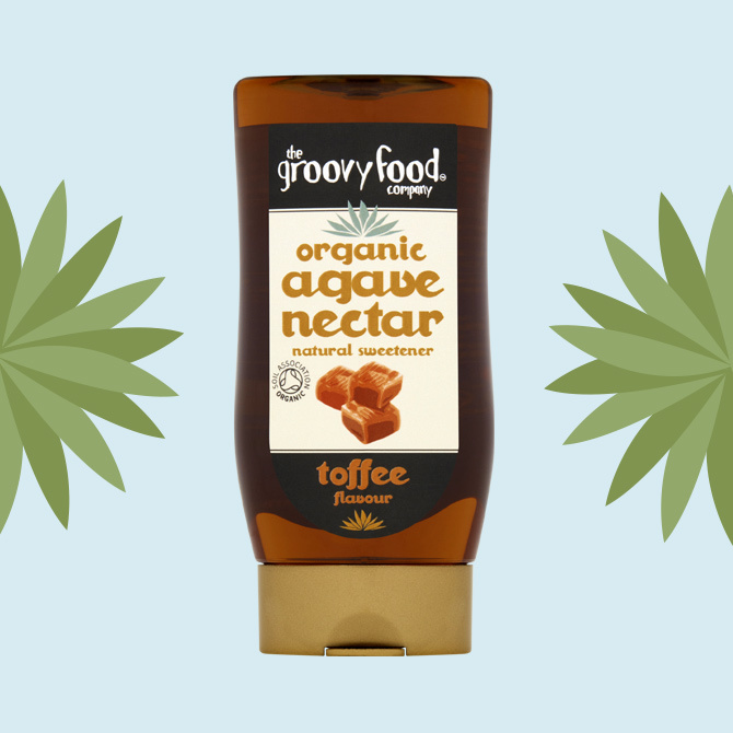 Agave nectar toffee