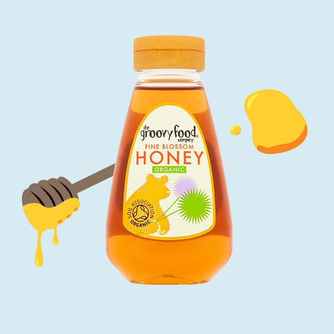 Honey org fine blossom sqzy