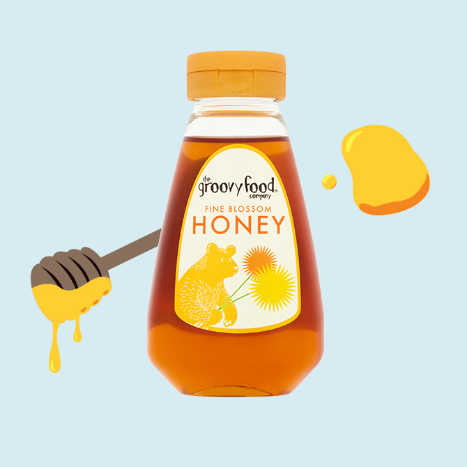 Honey fine blossom sqzy