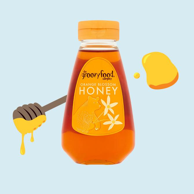 Honey orange blossom sqzy