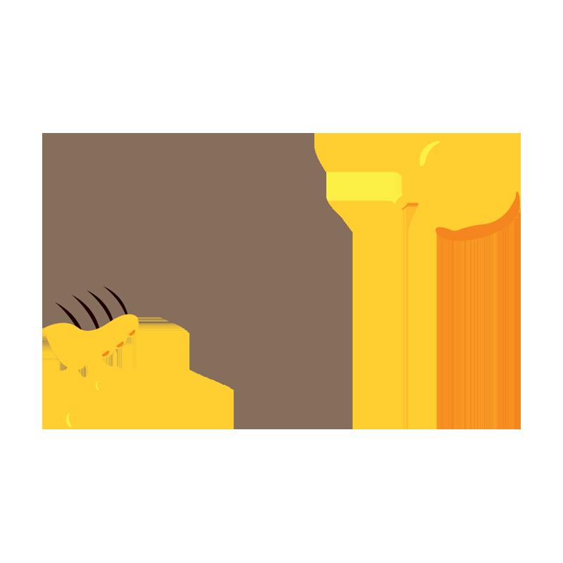 Honey organic fine blossom honey illustration