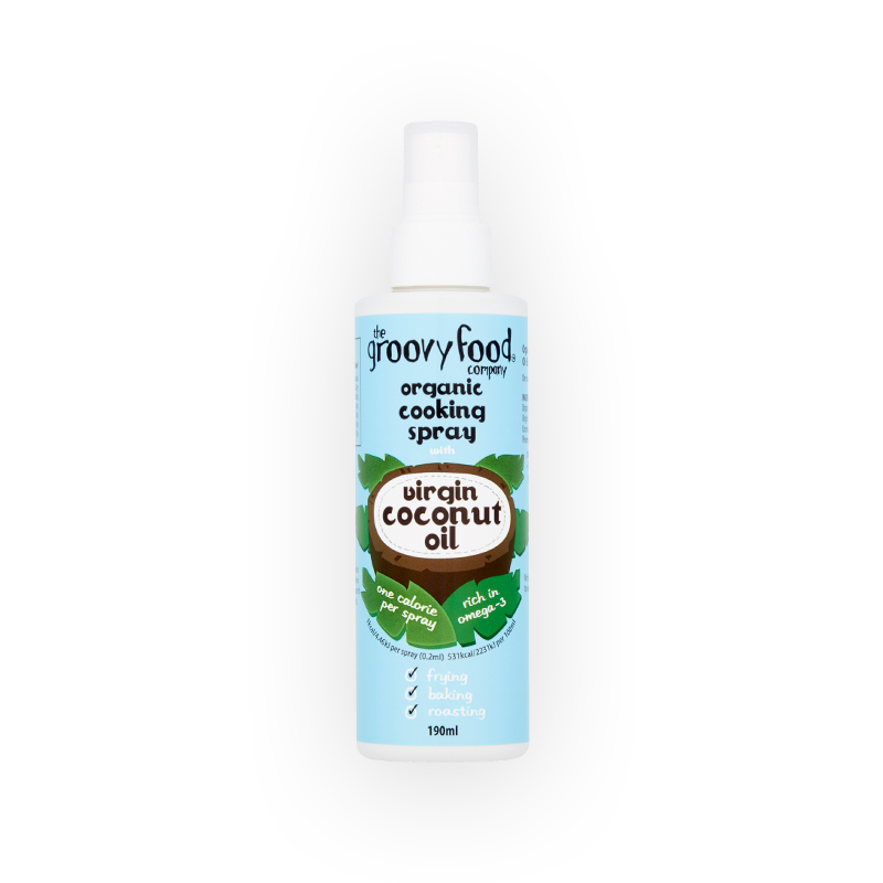 Coconut oil spray