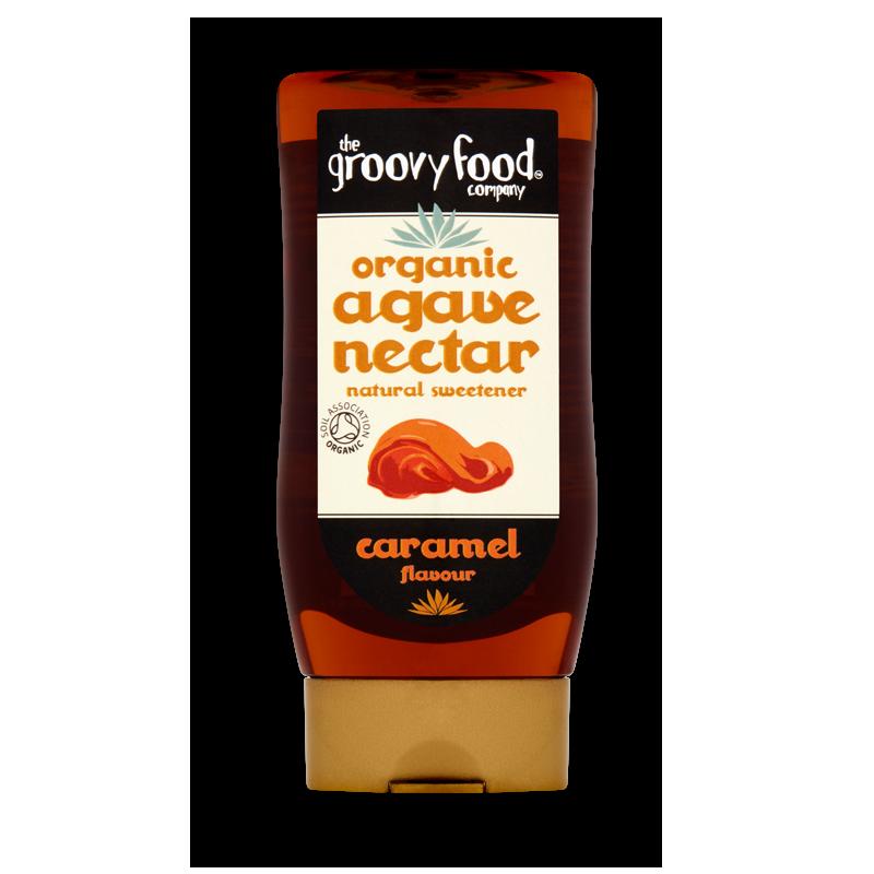 Agave nectar caramel