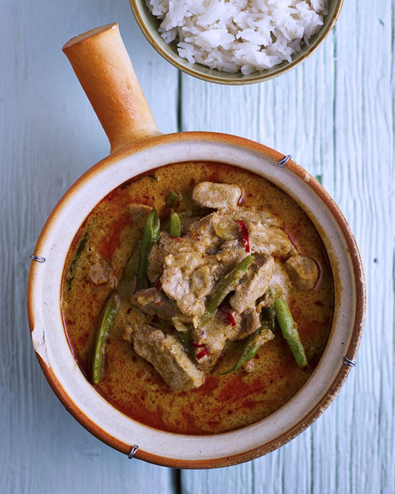 Pork thai curry chosen