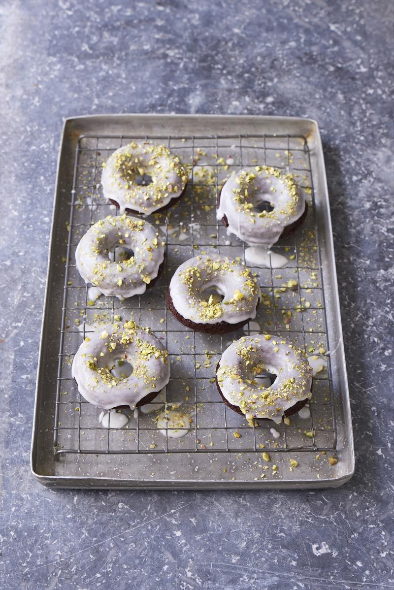 Coonut choc donuts