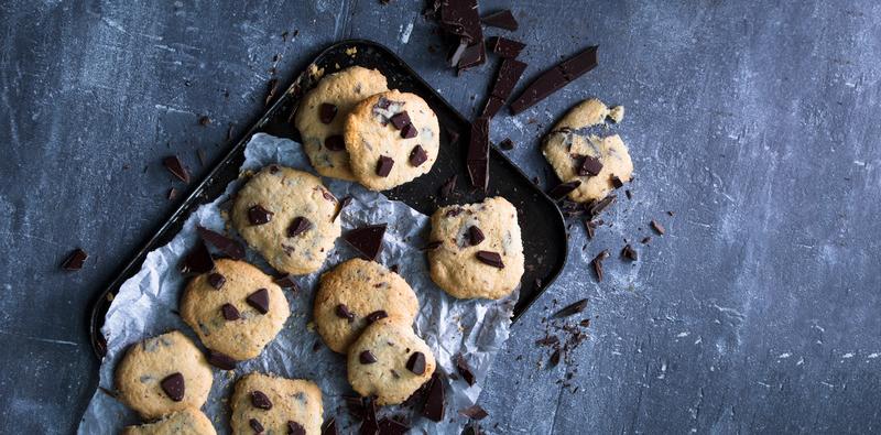 Doughy vegan cookies palm resized