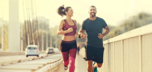 allenarsi in coppia 585x279 - Allenarsi in coppia: i buoni motivi per farlo