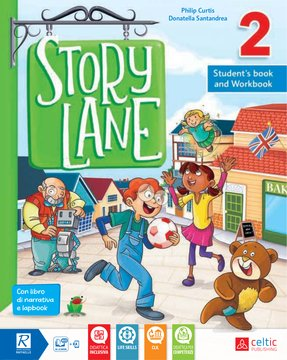 Story Lane 2 Student's book and Workbook