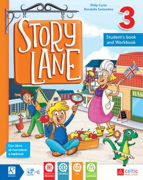 Story Lane 3 Student's book and Workbook