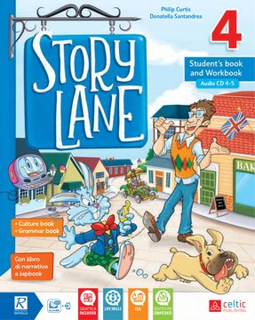 Story Lane 4 Student's book and Workbook