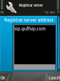 GULFISP Nokia pack 1 SIP setting configuration (Step14)
