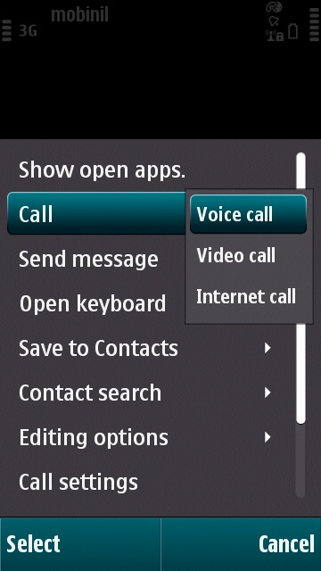 GULFISP Nokia pack 2 make calls (Step2)