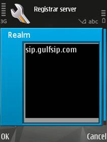GULFISP Nokia pack 1 SIP setting configuration (Step15)