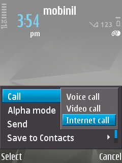 GULFISP Nokia  pack 1 make calls (Step9)