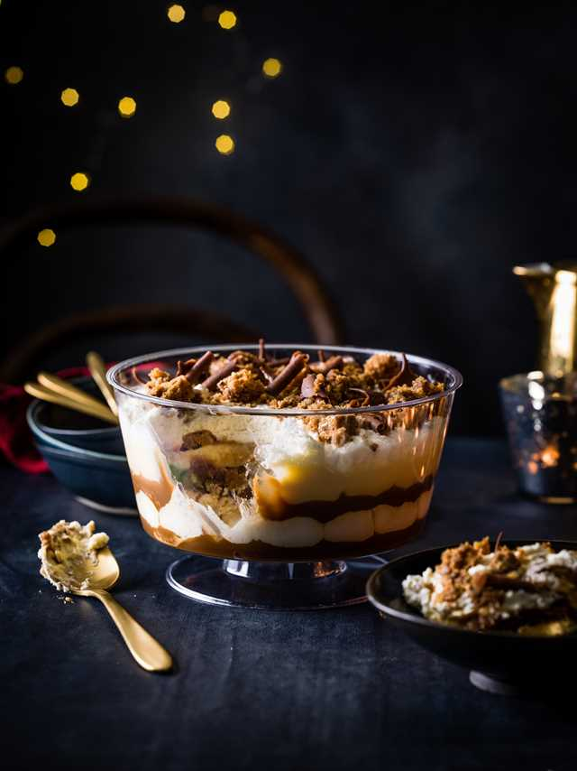 Sticky Toffee Trifle, £12