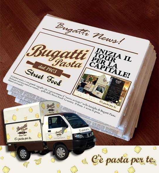 Bugatti Pasta Street Food