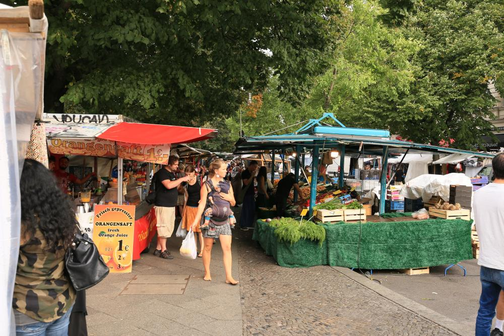 Markt aan de Maybachufer